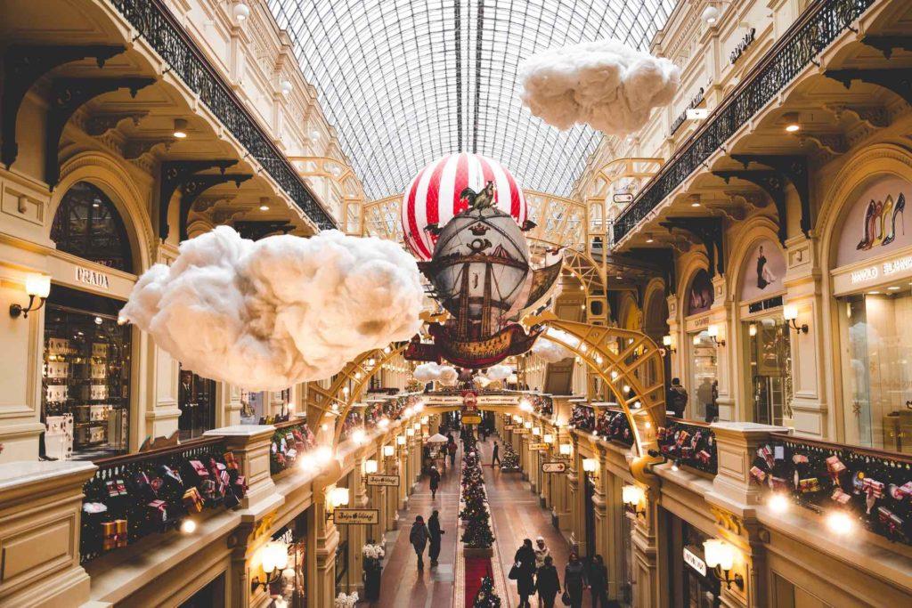 GUM de Moscou - Magasins de luxe