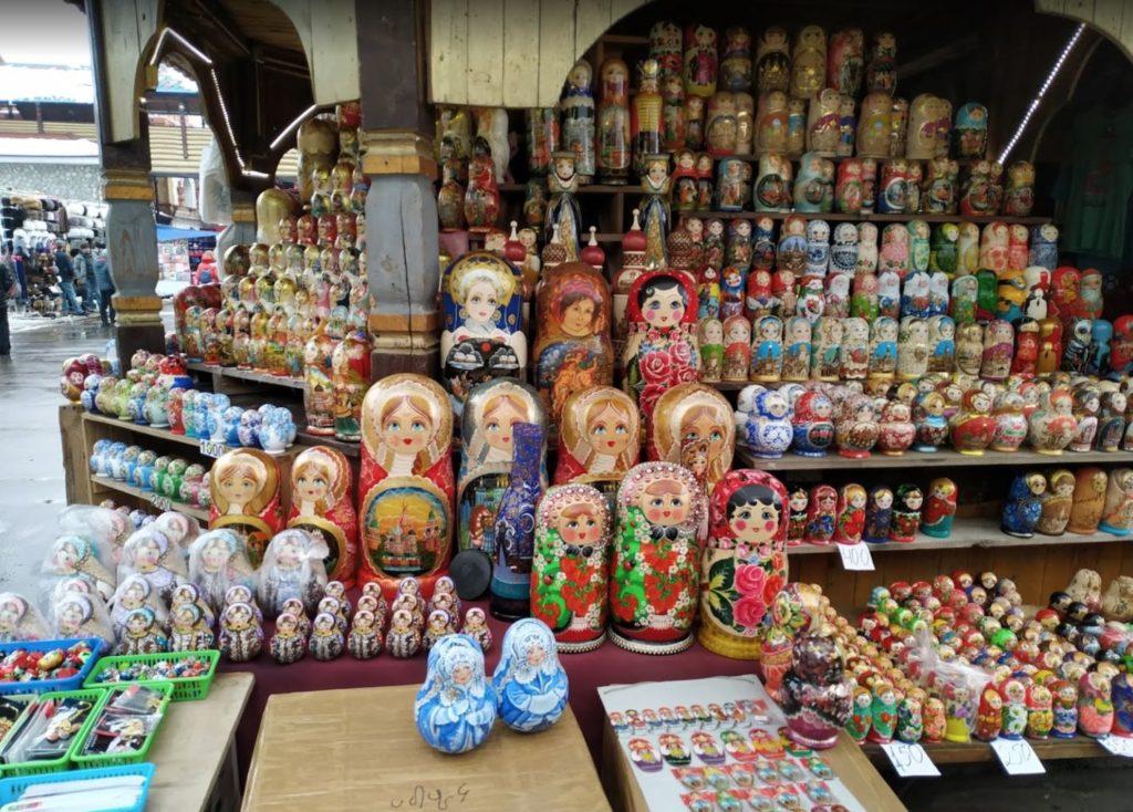 Matriohska - Mercato di Izmaylovo