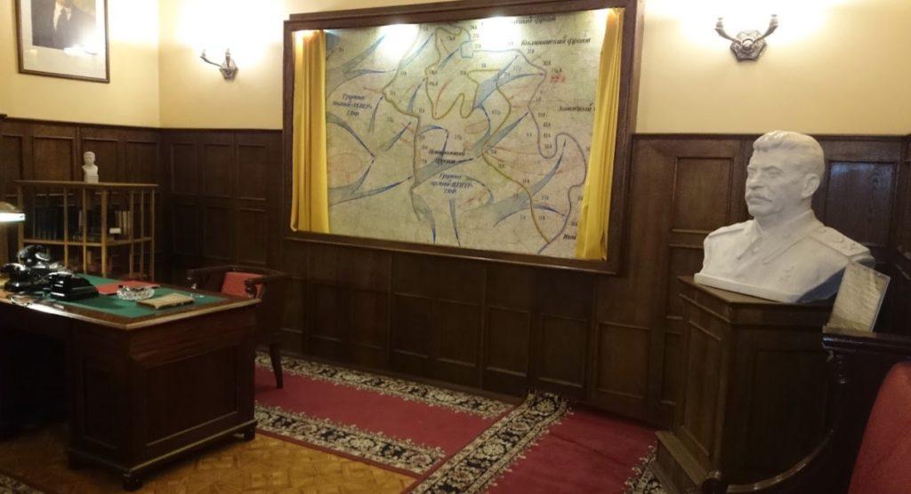 Bureau de bunker privé de Staline