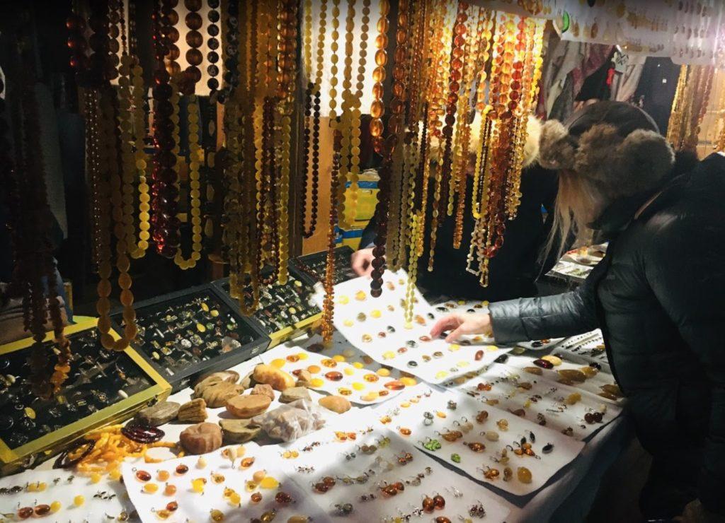 Pietre ambrate - Mercato di Izmaylovo