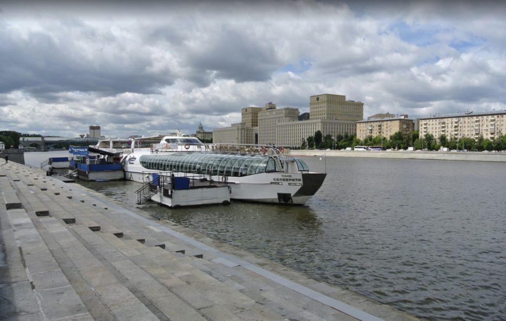 Fermata del molo di Gorkij Park - Radisson Flotilla Boats